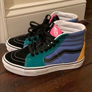 Vans SK8 Hi Mix N Match Sneakers Size M4.5, W6